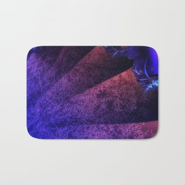 Pleated fantasy forest Bath Mat