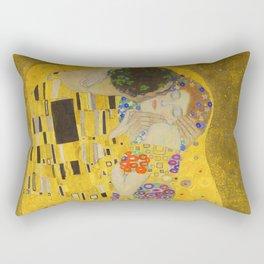 Gustav Klimt The Kiss Detail Rectangular Pillow