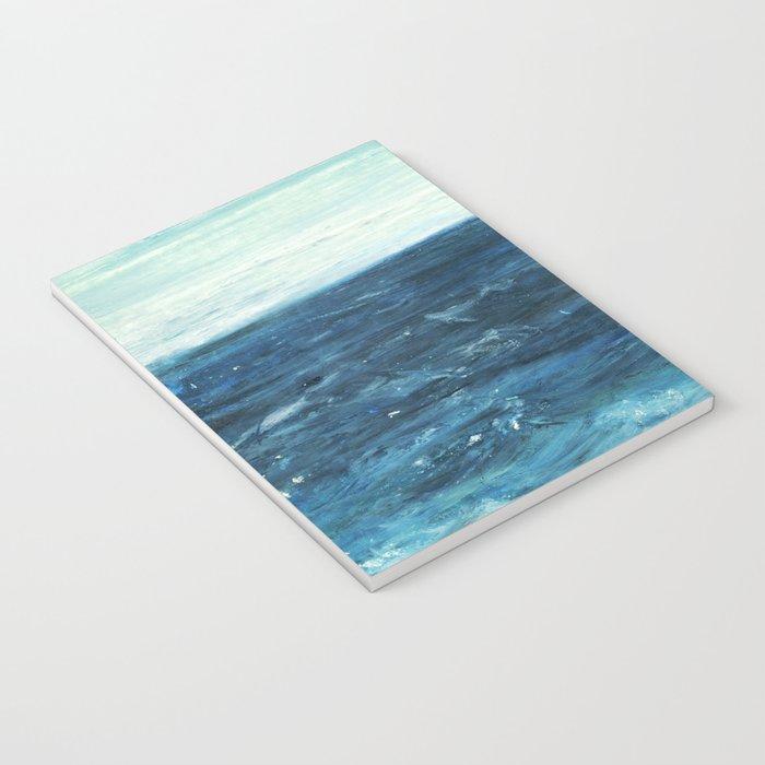 Horizon at the Baltic sea Notebook