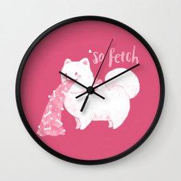 Fido, That's So Fetch! Wall Clock