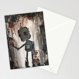Sad Robot 2 Stationery Cards