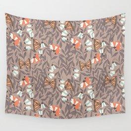 Monarch garden 004 Wall Tapestry