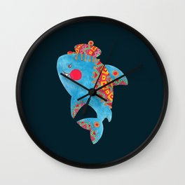 The Strong Shark Wall Clock