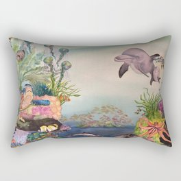 Journey Under the Sea by Maureen Donovan Rectangular Pillow