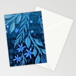 Floral graphic design Stationery Cards