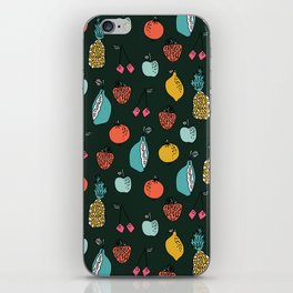 Tutti Fruit Pattern by Andrea Lauren iPhone Skin
