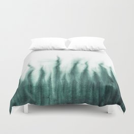 Forest smell - Watercolor - Dibujados Duvet Cover