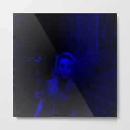 Bea Miller - Celebrity (Photographic Art) Dark Fashion Metal Print