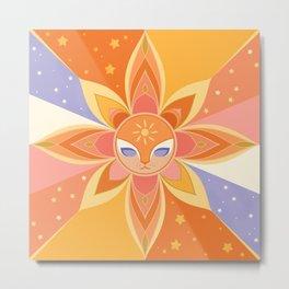 Sun Worshipper Metal Print