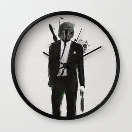 Boba fiction Wall Clock