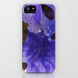 Watercolor Purple Mirage iPhone Case