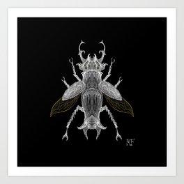 Beetle #1 Art Print