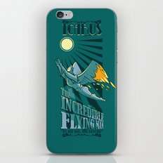 Icarus, The Incredible Flying Man iPhone & iPod Skin