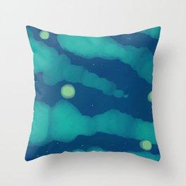 Stars or Fireflies - Fireflies 2 Throw Pillow