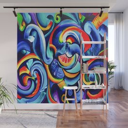 Hurricanes of the Mind Wall Mural