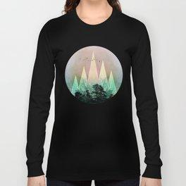 TREES under MAGIC MOUNTAINS IV Long Sleeve T-shirt