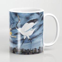 Dances With Cranes Coffee Mug
