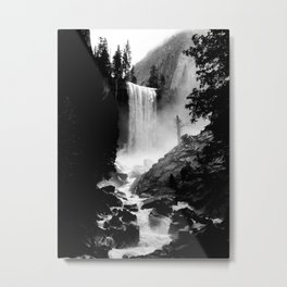 Yosemite Vernal Falls Metal Print