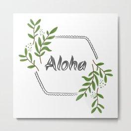 Aloha Spirit Metal Print