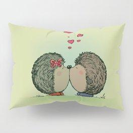 Hedgehogs in love Pillow Sham