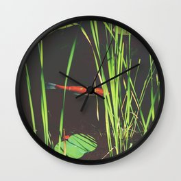 I feel good Wall Clock