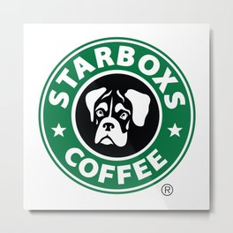 Starboxs Coffee - Boxer Coffee Logo Metal Print