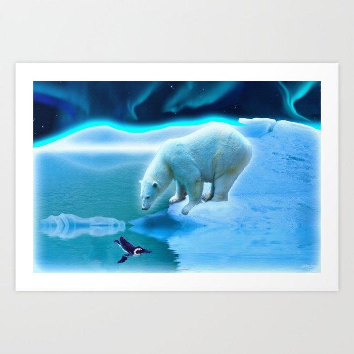Polar Bear Fantasy Art