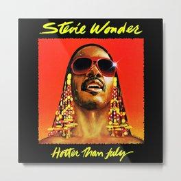 stevie wonder hotter july 2021 Metal Print