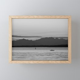 Kayak Dream Framed Mini Art Print