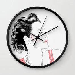 Marion Cotillard - Melancholia Serie Wall Clock