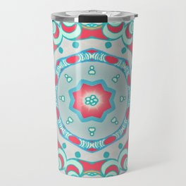 BOHO SUMMER JOURNEY MANDALA Travel Mug