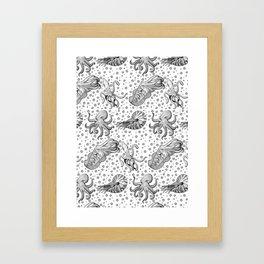 Cephalopods  Framed Art Print