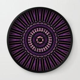 Pretty in Purple (1 of 3) Wall Clock