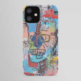 Close your eyes and breathe deeply iPhone Case