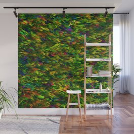 Peacock Thicket Wall Mural