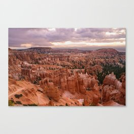 Sunset Point 6173 - Bryce_Canyon_National_Park, UT Canvas Print