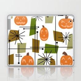 Halloween Mid Century Modern Laptop & iPad Skin
