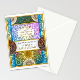 The Twin Holy Days Stationery Cards