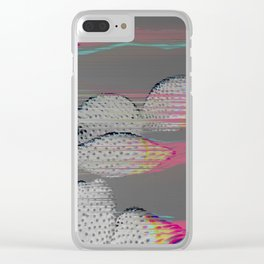 The Cactus Interference Clear iPhone Case