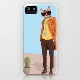 Mr Catcus iPhone Case