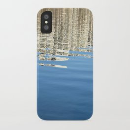 White Water Reflection iPhone Case