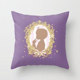 cardcaptor sakura star dream silhouette cameo Throw Pillow