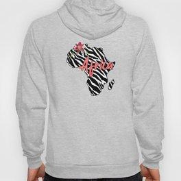 Africa Zebra Map Hoody