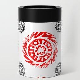 Sun mandala pattern Can Cooler