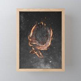 The burning of spirit.  Framed Mini Art Print