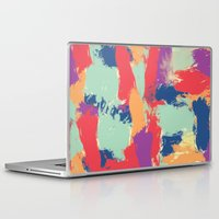 funky Laptop & iPad Skins featuring Funky by Georgia Dritsakou
