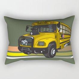School bus Rectangular Pillow