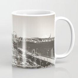 Gray Seattle Coffee Mug