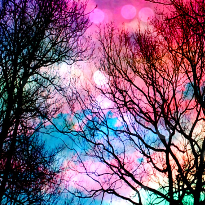 Colorful sky Leggings