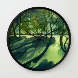 Afternoon Light Wall Clock